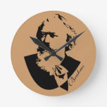 Brahms Composer Classical Music Wall Clock