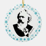 Brahms Composer Music Christmas Keepsake Christmas Tree Ornament
