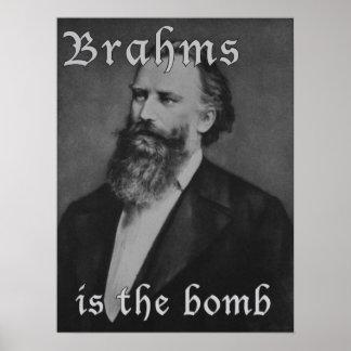 Brahms es la bomba póster
