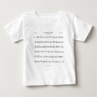 Brahms Lullaby Sheet Music Baby T-Shirt