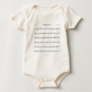 Brahms Lullaby Sheet Music Romper