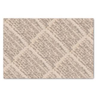 """Brahms Music Manuscript 10"""" X 15"""" Tissue Paper"""