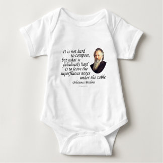 Brahms on Composing Shirt