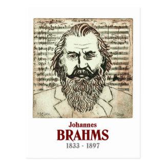 Brahms Postcard