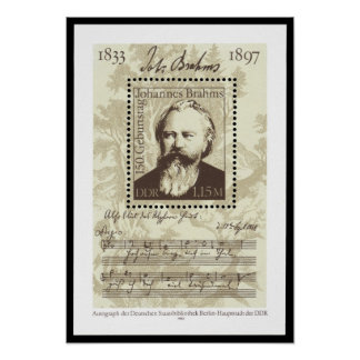 Brahms Póster