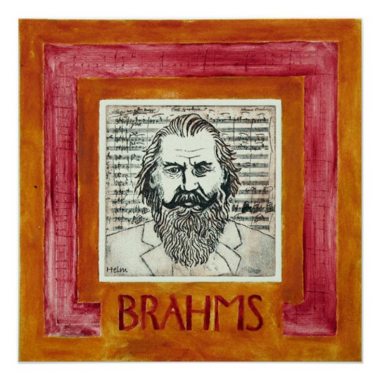 BRAHMS (posters) Poster