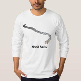 Braid Snake American Apparel Long Sleeve Tee Shirt