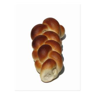 Braided Bread Postcard