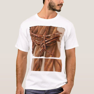 Braided Chain with Rusted Wire T-Shirt
