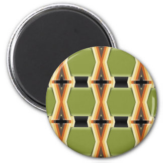 Braided Green Bands Magnet