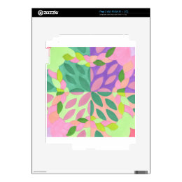 braided sisters decal for iPad 2