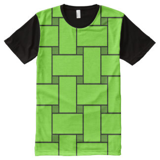 Braided (transparent) All-Over print t-shirt