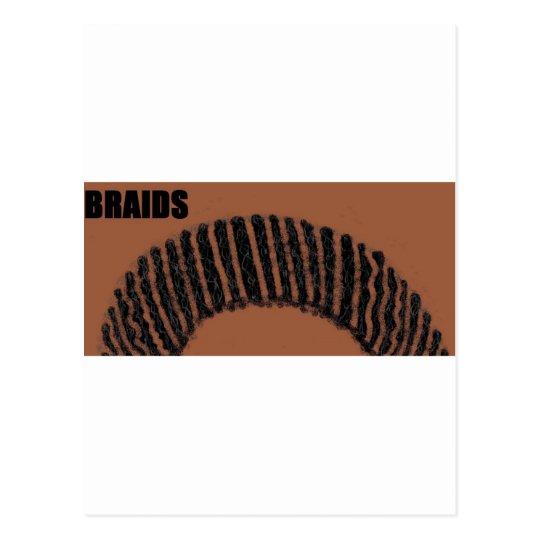 braids postcard
