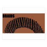 braids postcards