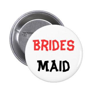 Braidsmaid Button