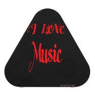 BRAIDSS Custom Speaker I Love Music