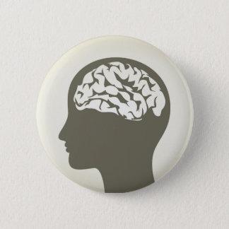 Brain5 Pinback Button