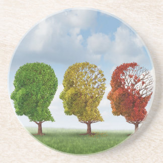 Brain Aging Coaster