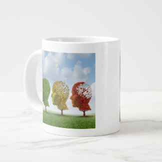 Brain Aging Large Coffee Mug
