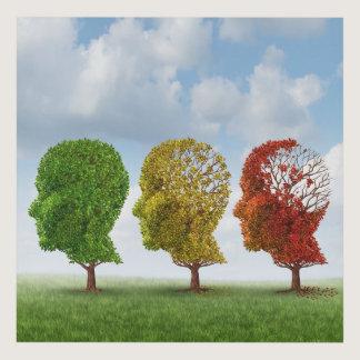 Brain Aging Panel Wall Art