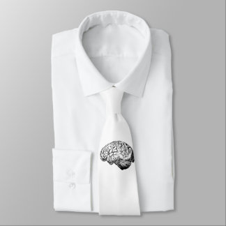 Brain Anatomy Neck Tie