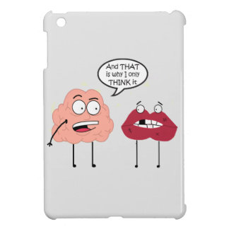 Brain and Mouth iPad Mini Cases