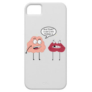 Brain and Mouth iPhone SE/5/5s Case