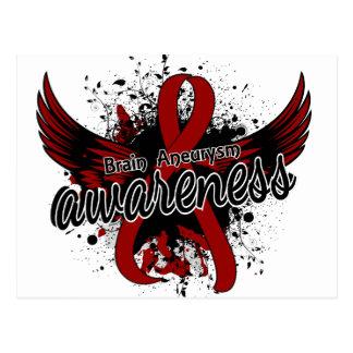 Brain Aneurysm Awareness 16 Postcard