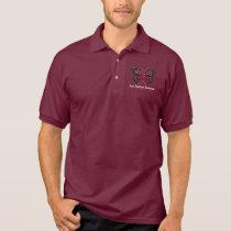Brain Aneurysm Awareness Polo Shirt