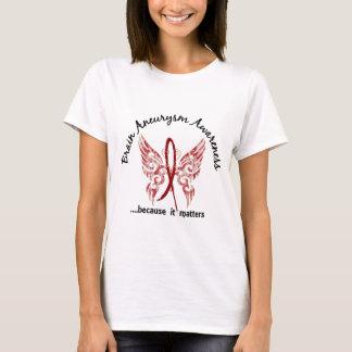 Brain Aneurysm Butterfly 6.1 T-Shirt