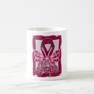 Brain Aneurysm Hope Butterfly Classic White Coffee Mug