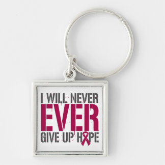 Brain Aneurysm I Will Never Ever Give Up Hope Key Chain