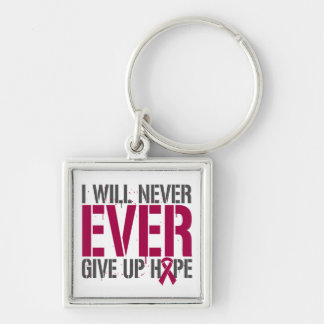 Brain Aneurysm I Will Never Ever Give Up Hope Keychains