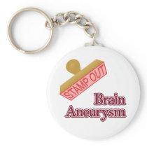 Brain Aneurysm Keychain