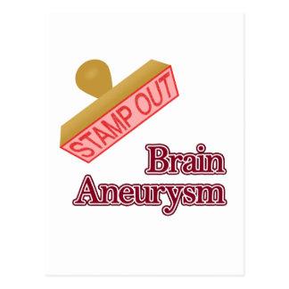 Brain Aneurysm Postcard