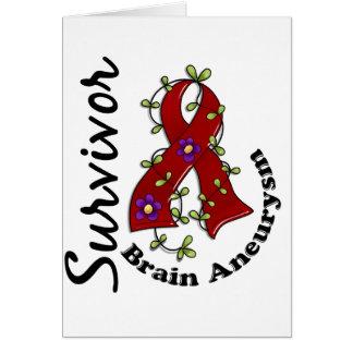 Brain Aneurysm Survivor 15 Card