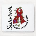 Brain Aneurysm Survivor 15 Mouse Pads