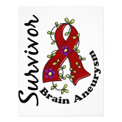 Brain Aneurysm Survivor 15 Personalized Flyer