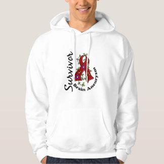 Brain Aneurysm Survivor 15 Sweatshirt