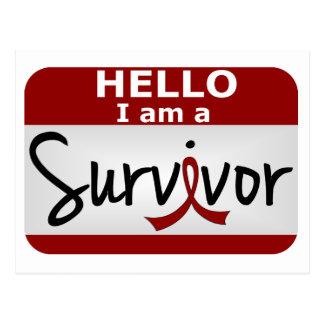 Brain Aneurysm Survivor 24.png Postcard