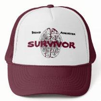 Brain Aneurysm Survivor Hat
