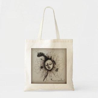 Brain art tote bag