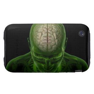 Brain Arteries Tough iPhone 3 Covers