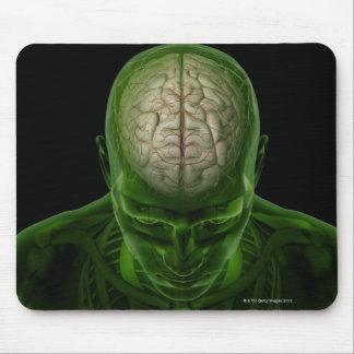 Brain Arteries Mouse Pad
