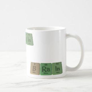 Brain as Boron Radium Indium Coffee Mug