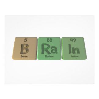 Brain as Boron Radium Indium Flyer