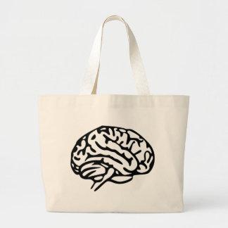 Brain Tote Bags