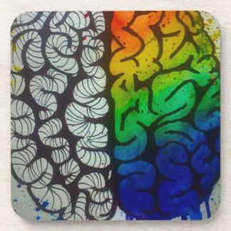 Brain Beverage Coaster