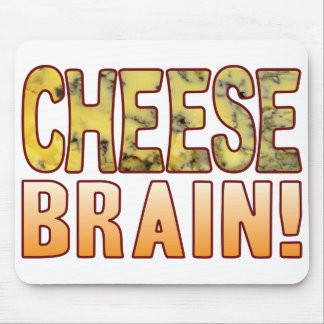 Brain Blue Cheese Mouse Pad