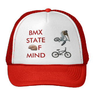 brain, bmxer, bmx bike, BMXSTATEofmind Trucker Hat